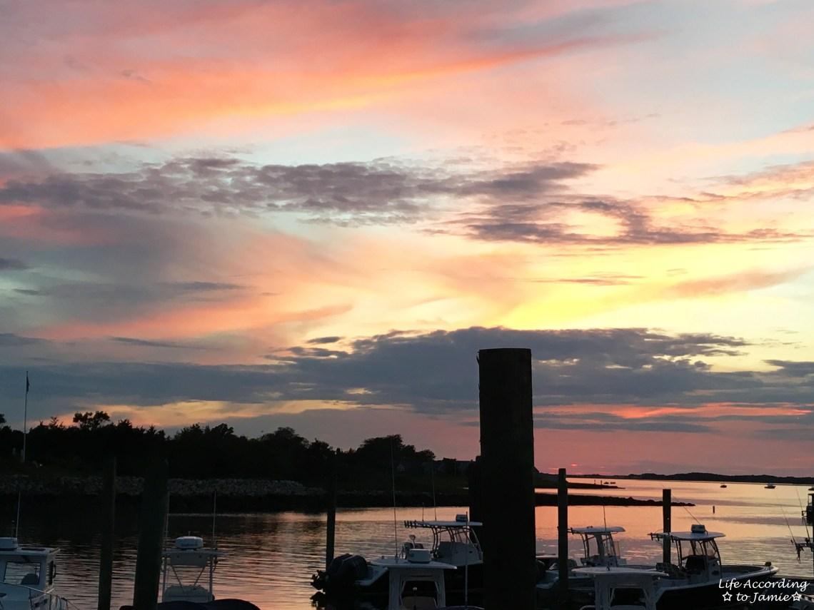 Mattakeese Wharf - Sunset View