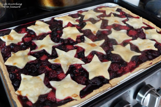 Mixed Berry Slab Pie 3