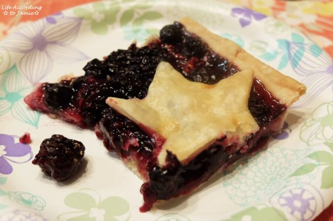 Mixed Berry Slab Pie 8