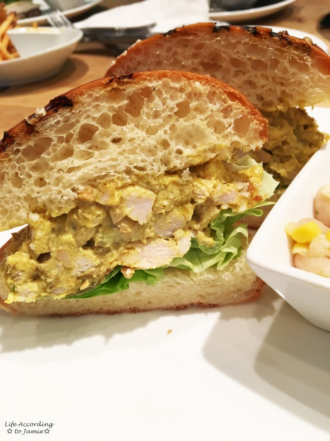 Pain d'Avignon - Curry Chicken Sandwich 1