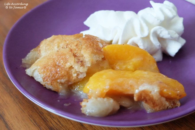 Peach Cobbler 2