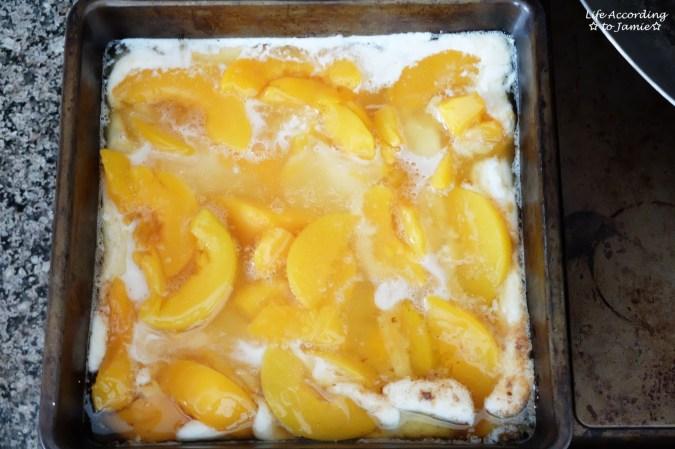 Peach Cobbler - Pre Baking