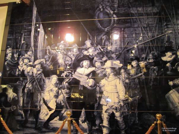 Royal Delft Museum - The Night Watch