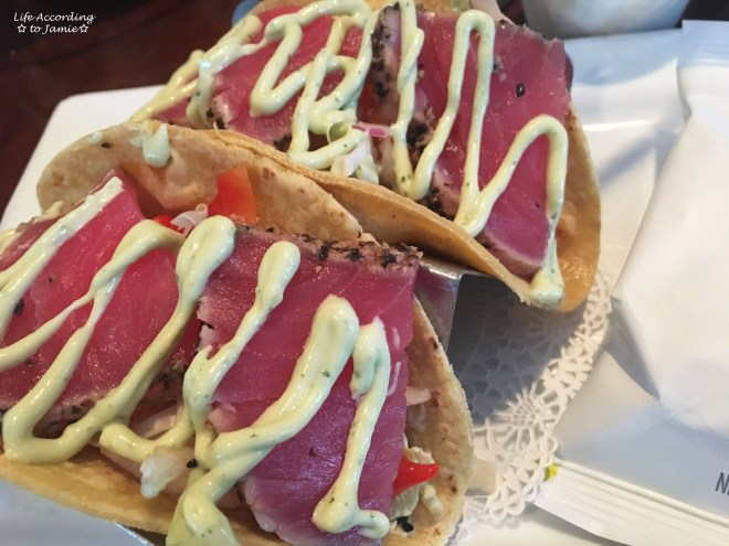 The Black Cat - Seared Tuna Tacos 1