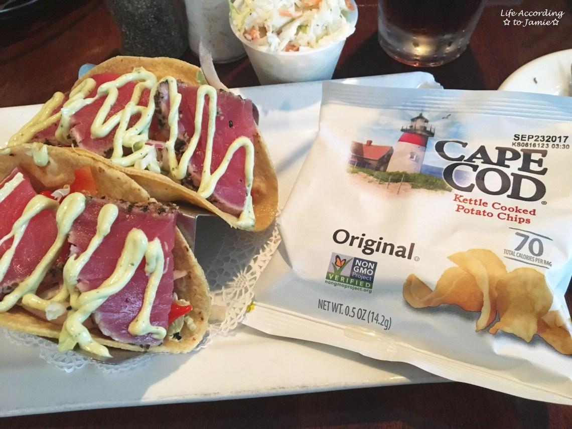 The Black Cat - Seared Tuna Tacos