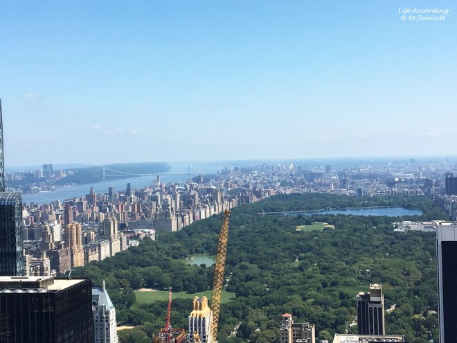 Top of the Rock - Central Park View 1