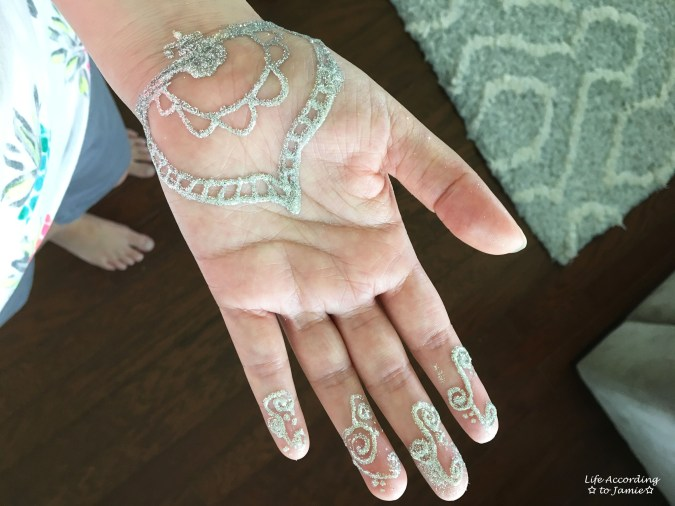 Earth Henna - White Lace 6