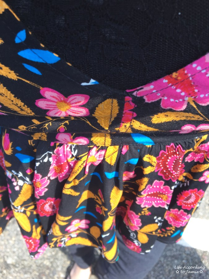 Floral Babydoll Cami + Lace Bodysuit 4