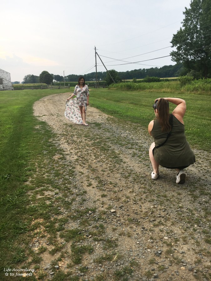 Professional Photo Shoot - Behind the Scenes 1