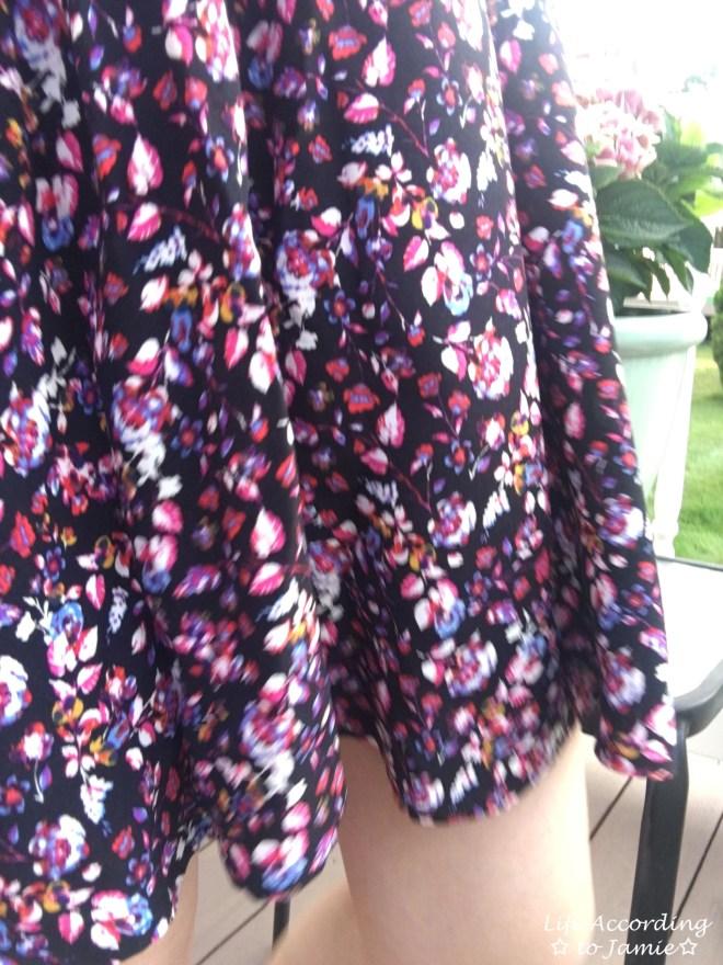 Smocked Floral OTS Dress 8