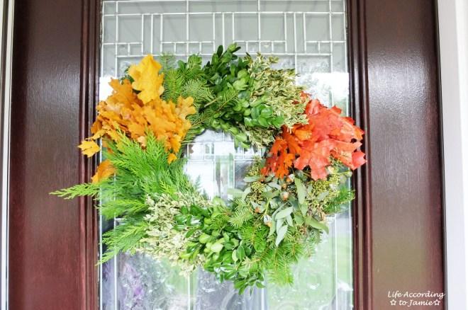 Celebrate Fall Wreath 2
