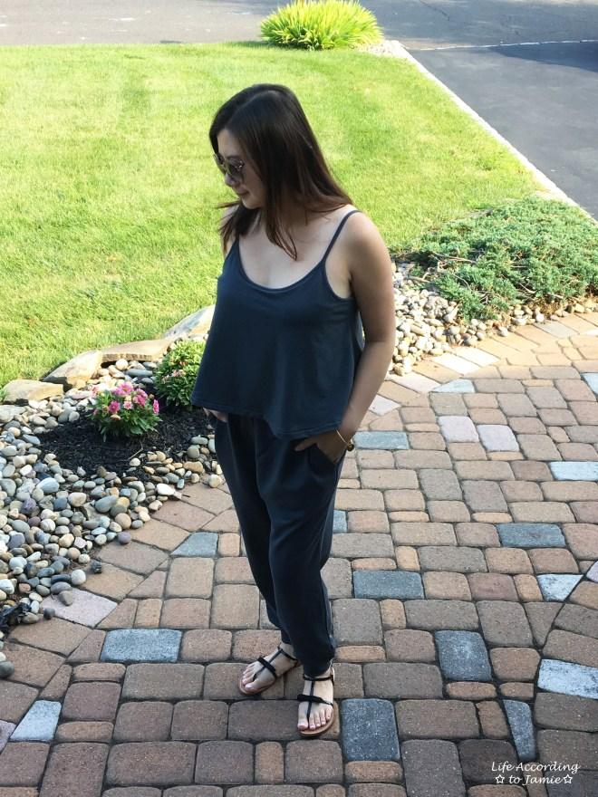 Grey Cami Jumpsuit