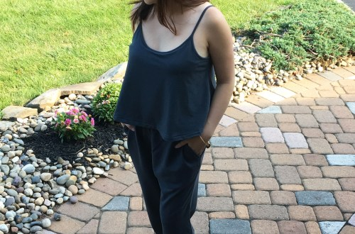 Grey Cami Jumpsuit