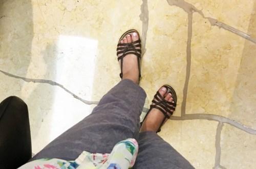 Jacquard Crop Pants + Floral Kimono