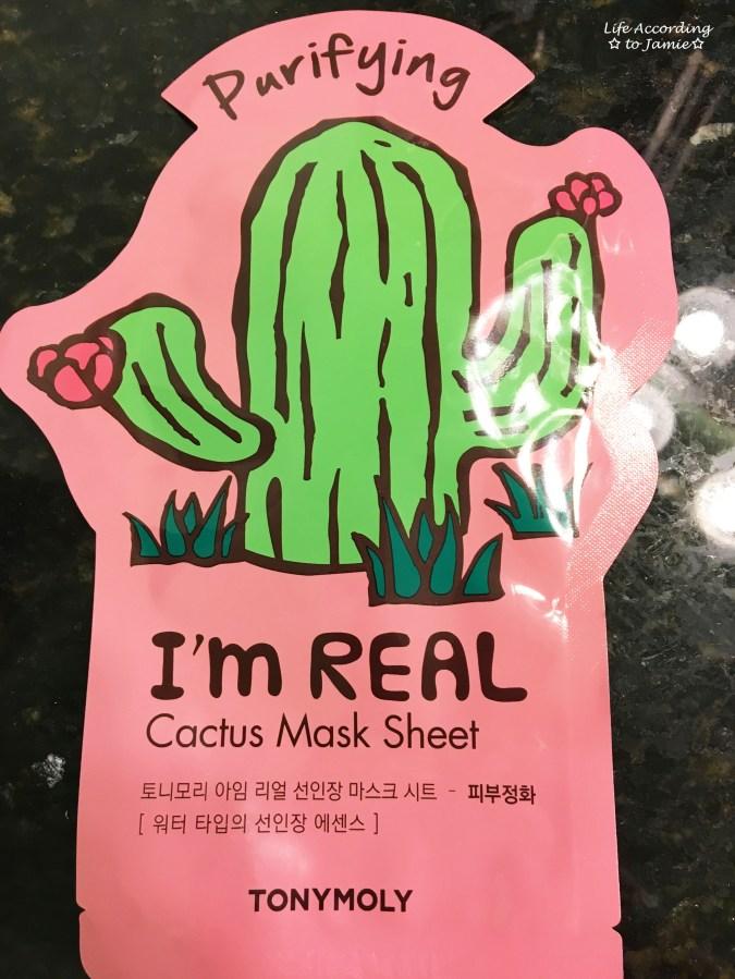 TonyMoly Sheet Mask - Cactus