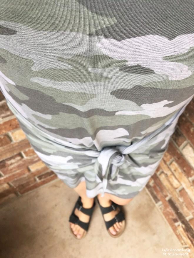 Camo Twist Dress 1