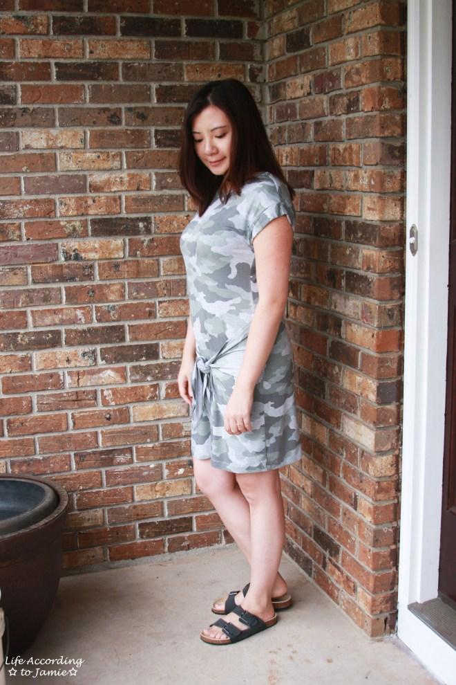 Camo Twist Dress 4