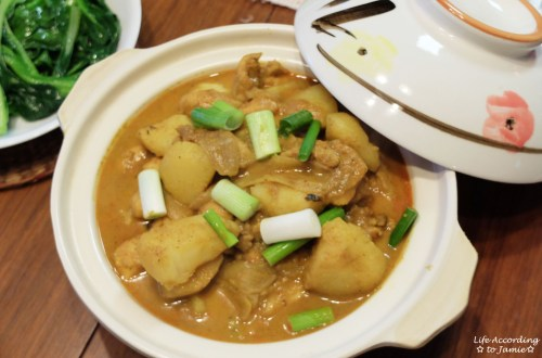 Curry Chicken + Potatoes