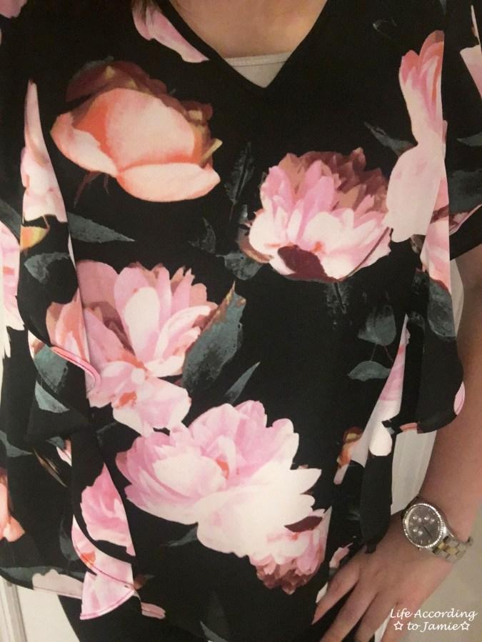 Mystic Blooms - Vertical Ruffles 6