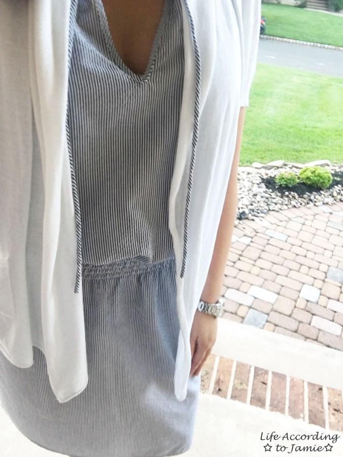 Seersucker Dress 1