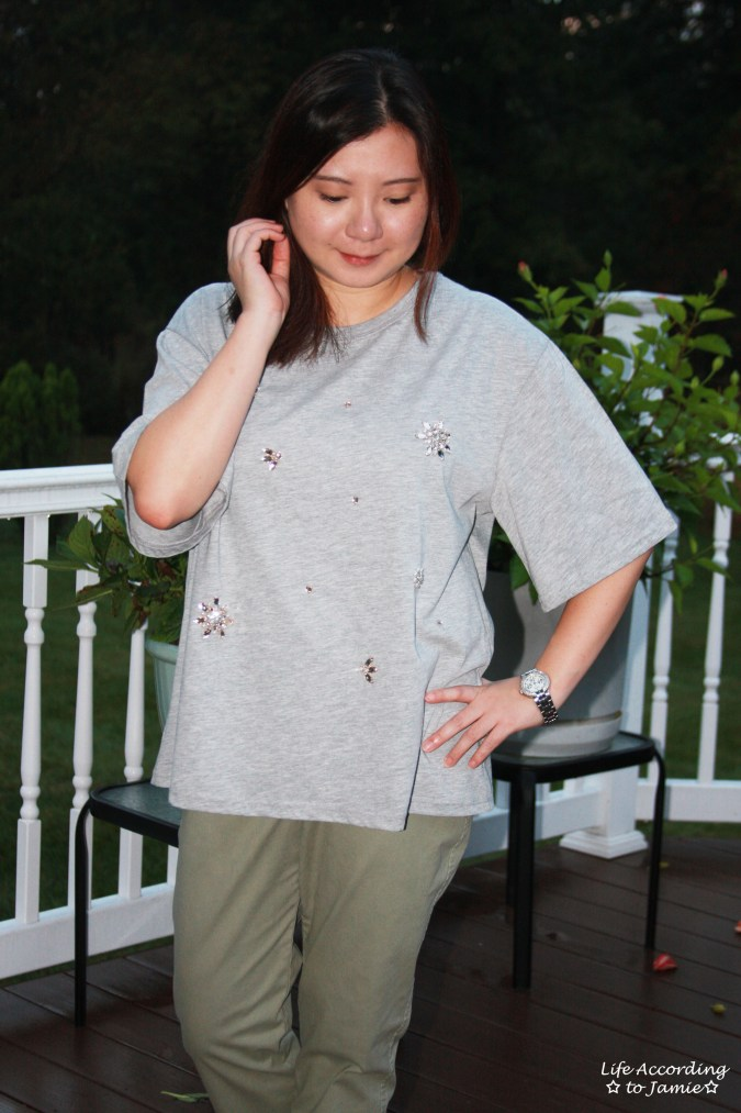 Bejeweled Oversized Tee 8