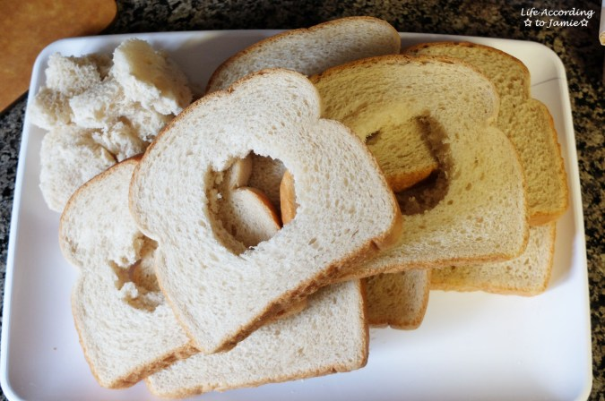 Bread with hole