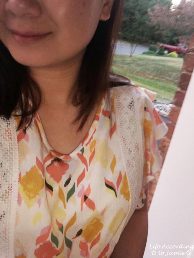 Fez Geo Lace Midi Dress 2