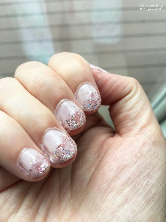 Nails - Sugar Coat & Strobe Light 1