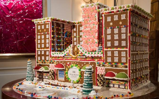 Beverly Wilshire Hotel - Gingerbread House