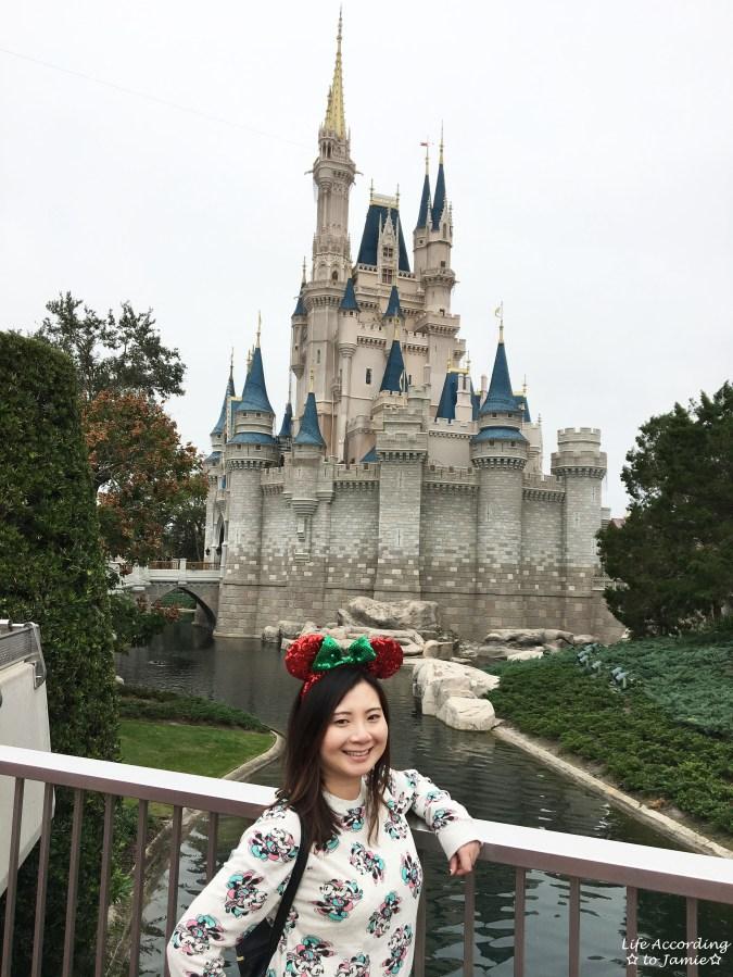 Cinderella Castle - Minnie Christmas Ears