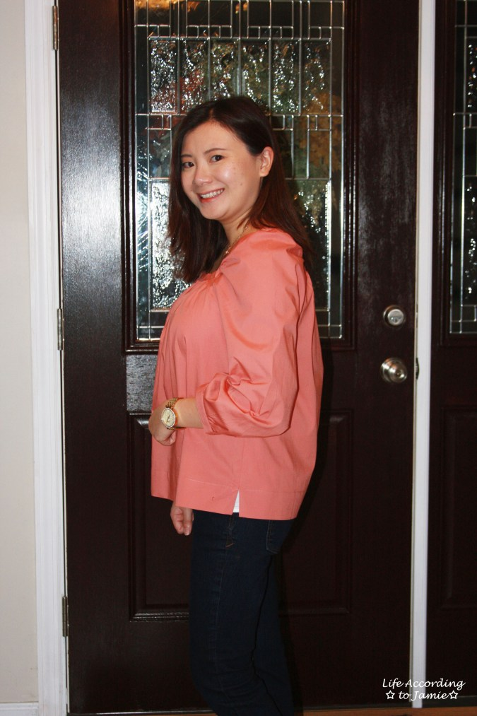 Copper Rose Peasant Top 7