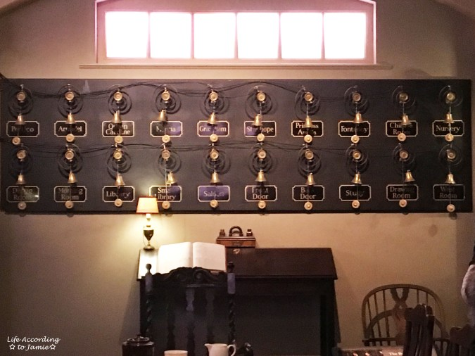 Downton Abbery - The Exhibition - Servant's Bells