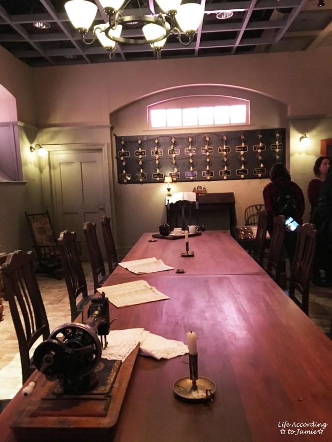 Downton Abbery - The Exhibition - Servant's Quarters