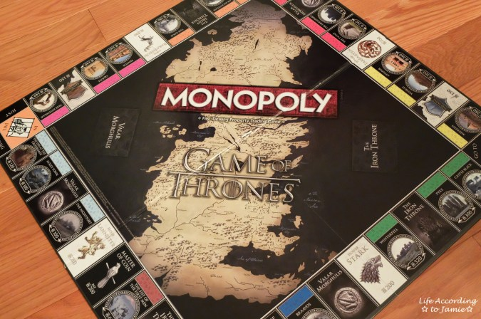 Game of Thrones Monopoly - Board