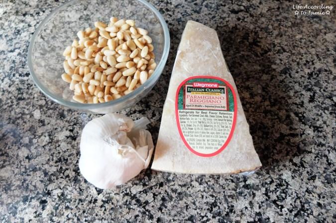 Garlic + Pine Nuts + Parmigiano