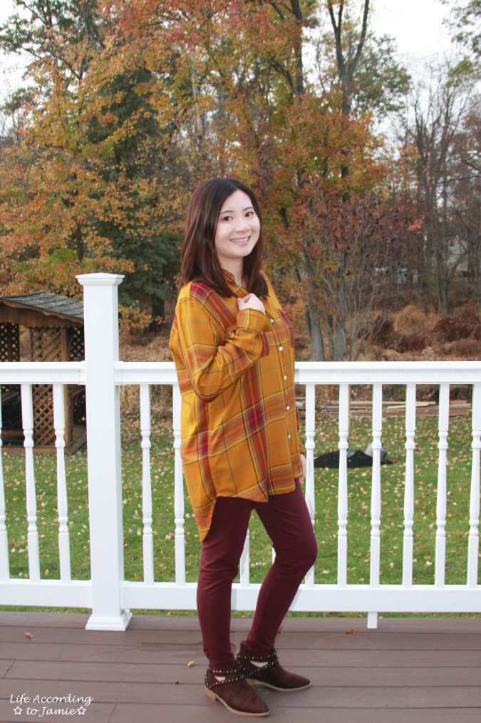 Mustard Plaid Tunic 10
