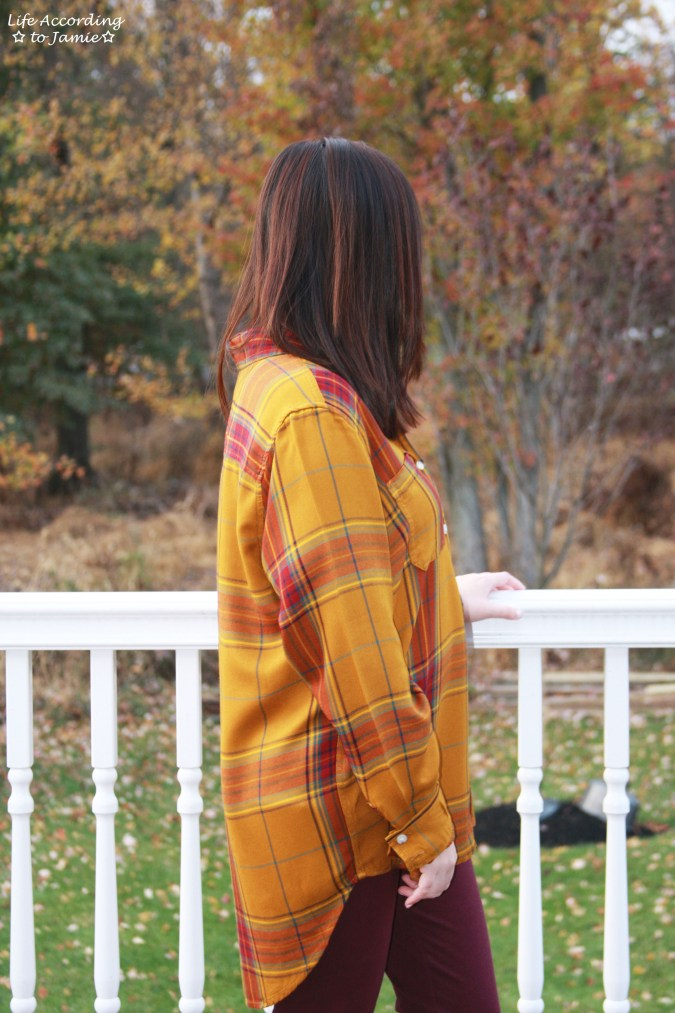 Mustard Plaid Tunic 6