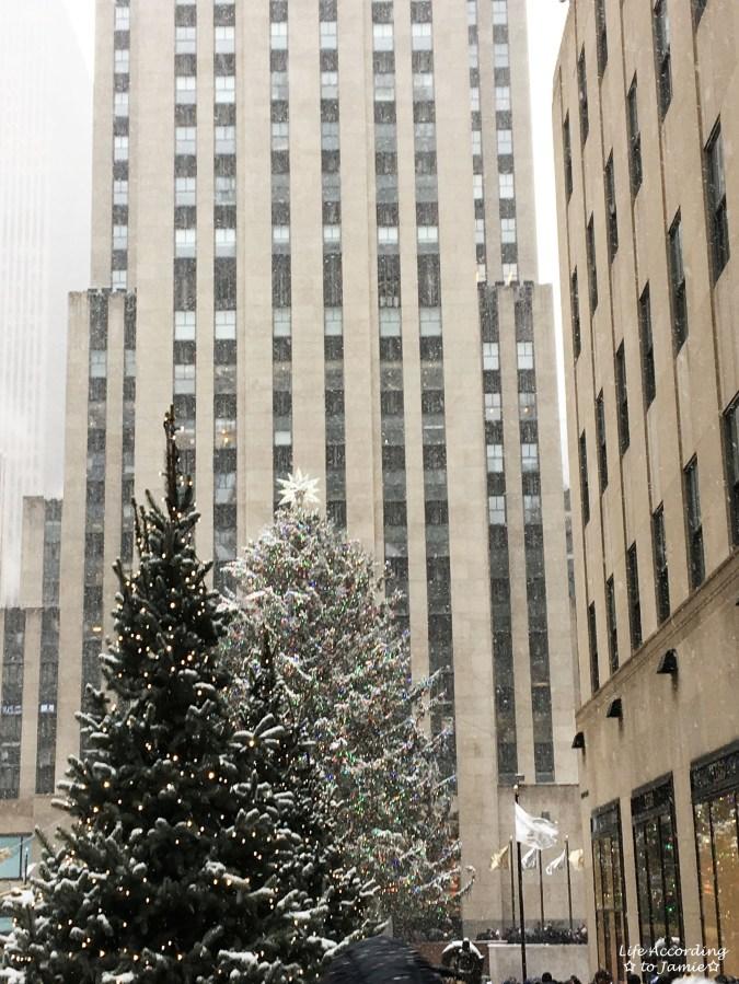 Rockefeller Center - Snow