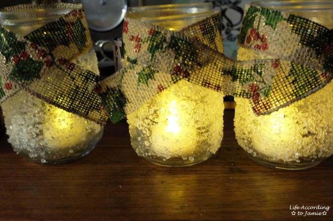 Snowy Mason Jar 5