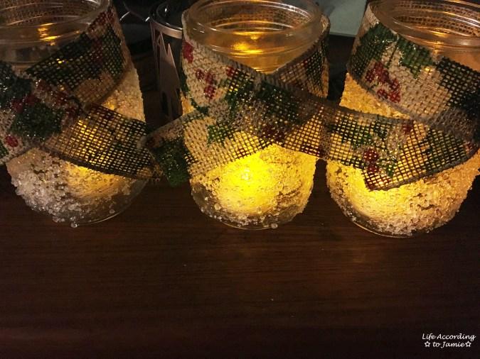 Snowy Mason Jar 7