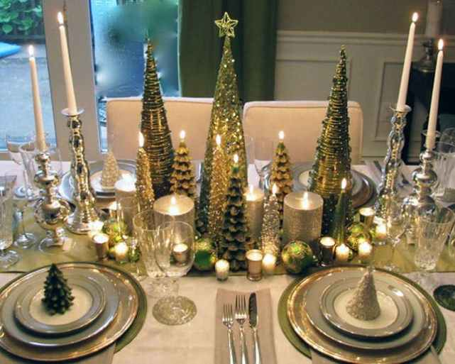 Sparkling Tree & Candles