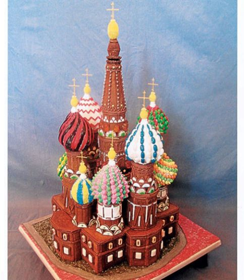 St Basil's Basillica - Gingerbread House