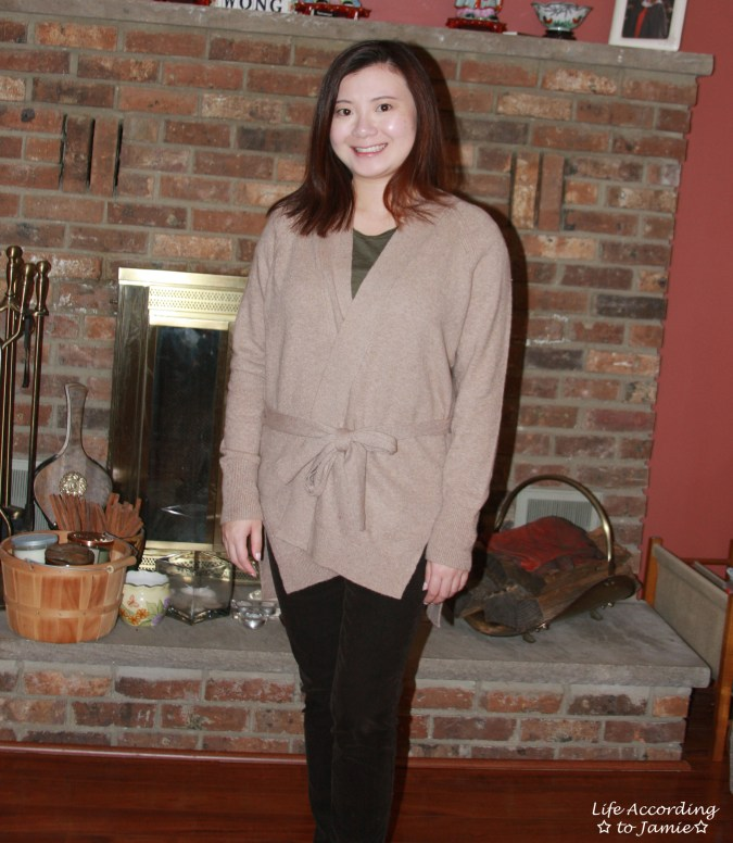 Taupe Sand Belted Cardigan 8