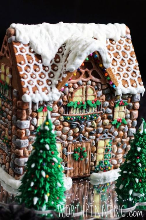 stone-gingerbread-house