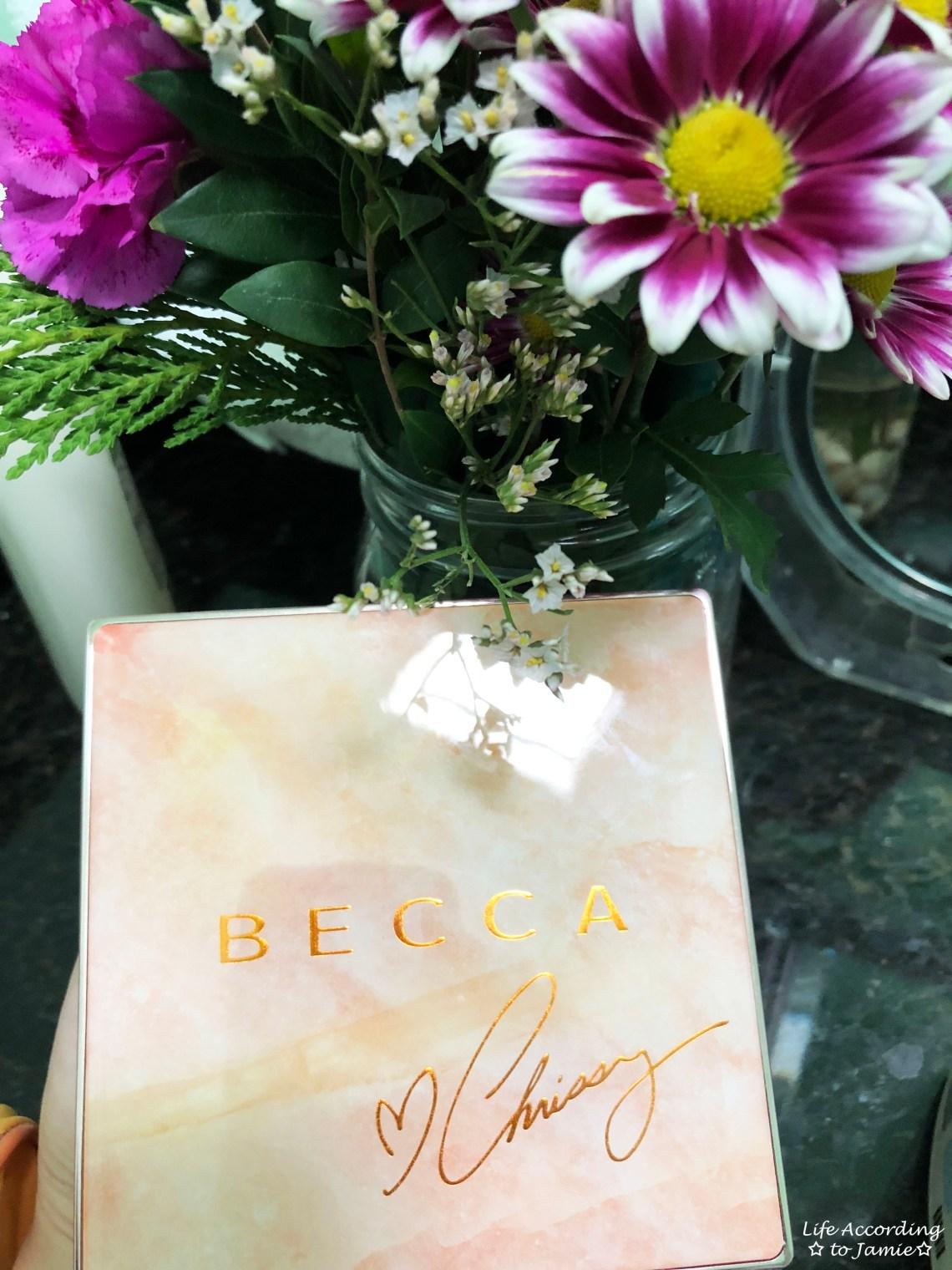 Becca x Chrissy - Glow Face Palette