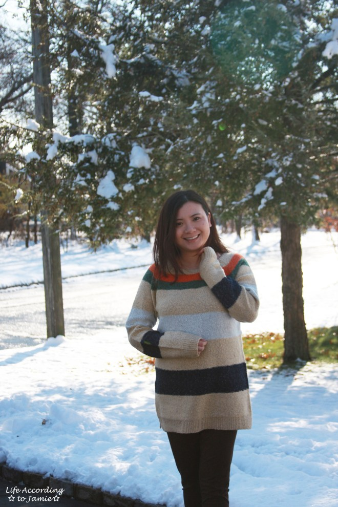Block Stripe Sweater 5