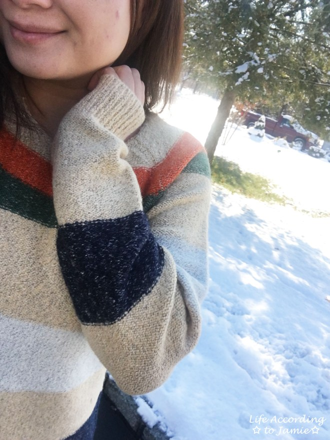 Block Stripe Sweater 9