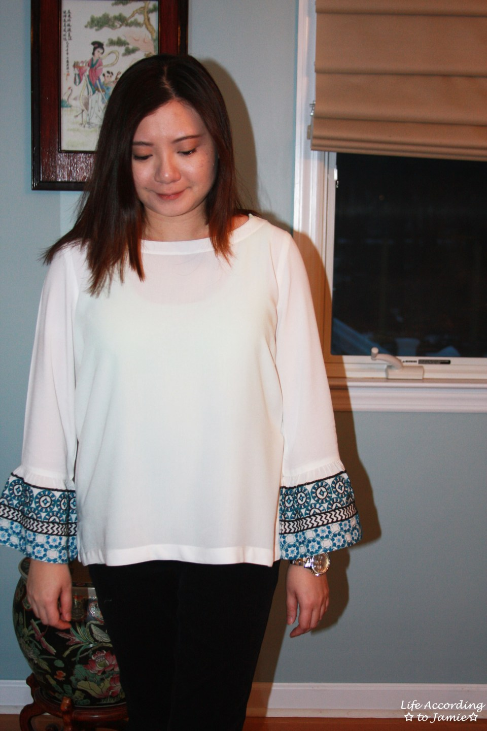 Embroidered Bell Sleeves 7