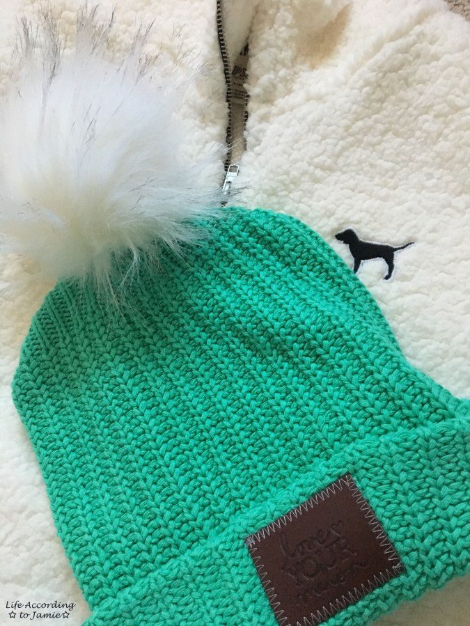 Love Your Melon Beanie + Sherpa Pullover