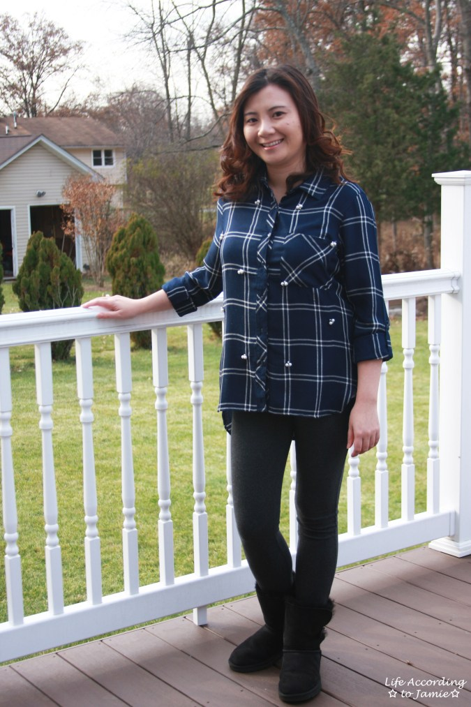 Pearl Embellished Plaid 9